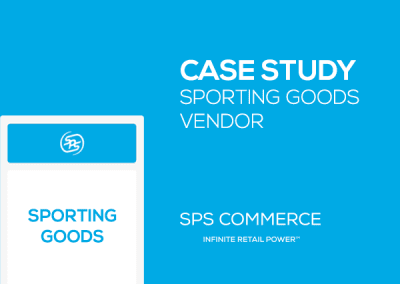 Sporting Goods Vendor