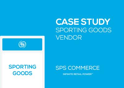 Sporting Goods Vendor