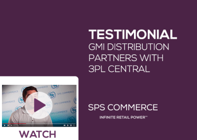 GMI partners with SPS Commerce and 3PL Central