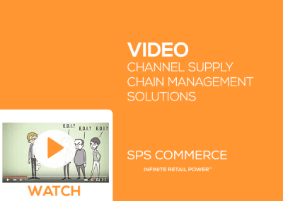 Channel Supply Chain Management Solutions from SPS Commerce