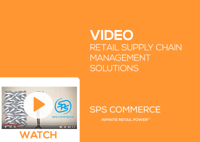 Retail Supply Chain Management Solutions from SPS Commerce