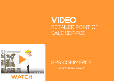 Retailer Point of Sale Service from SPS Commerce