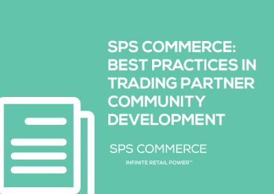 SPS Commerce White Paper: Best Practices in Trading Partner Community Development