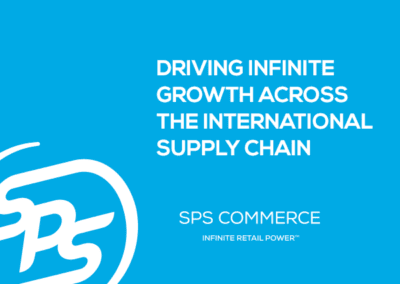 Driving Infinite Growth Across the International Supply Chain (TBR)