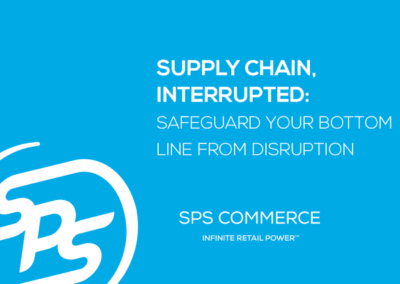 Supply Chain, Interrupted (TBR)