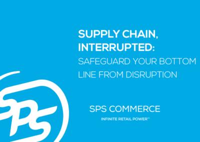 Supply Chain, Interrupted (TBR)
