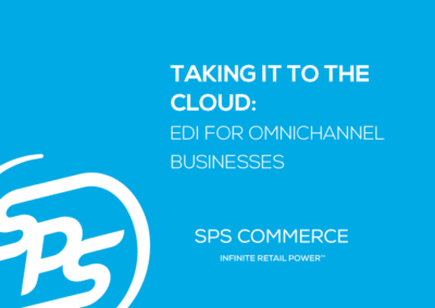 Taking it to the Cloud: EDI for Omnichannel Businesses (TBR)