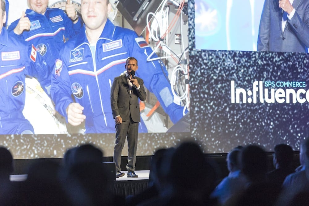 Col Chris Hadfield – SPS Commerce Influence 2017