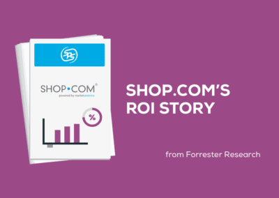 SHOP.COM's ROI story | Study conducted by Forrester Consulting