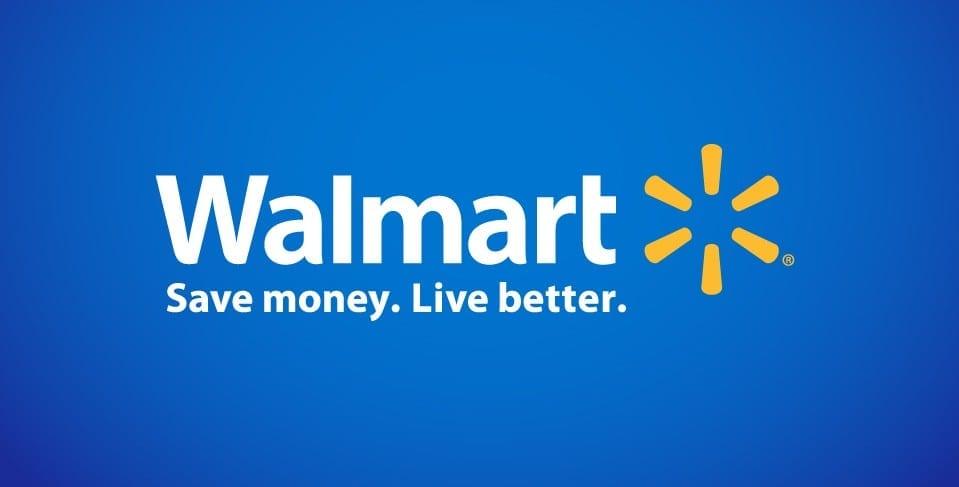 walmart logo blue background