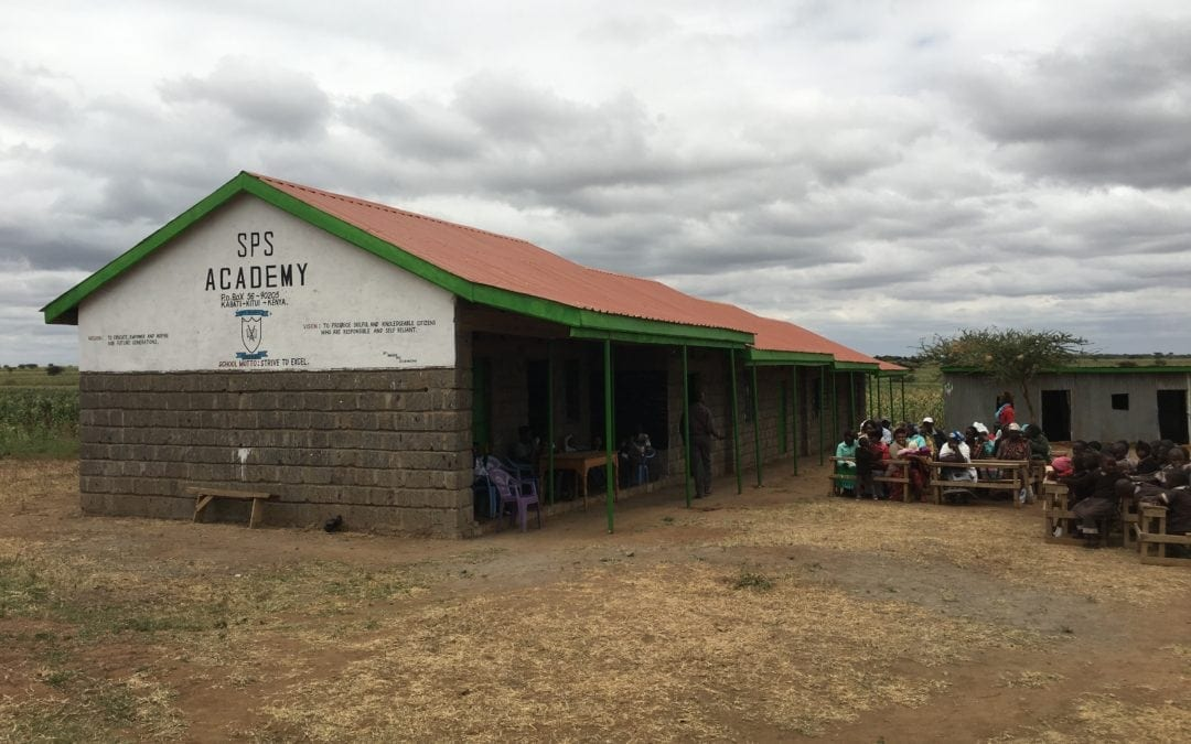 School in Kenya constructed with help of SPS Commerce