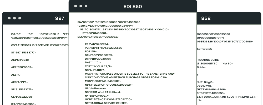 EDI Documents