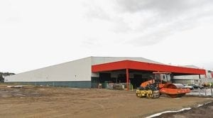 Amazon Australia's Melbourne fulfilment centre opened 1 November 2017