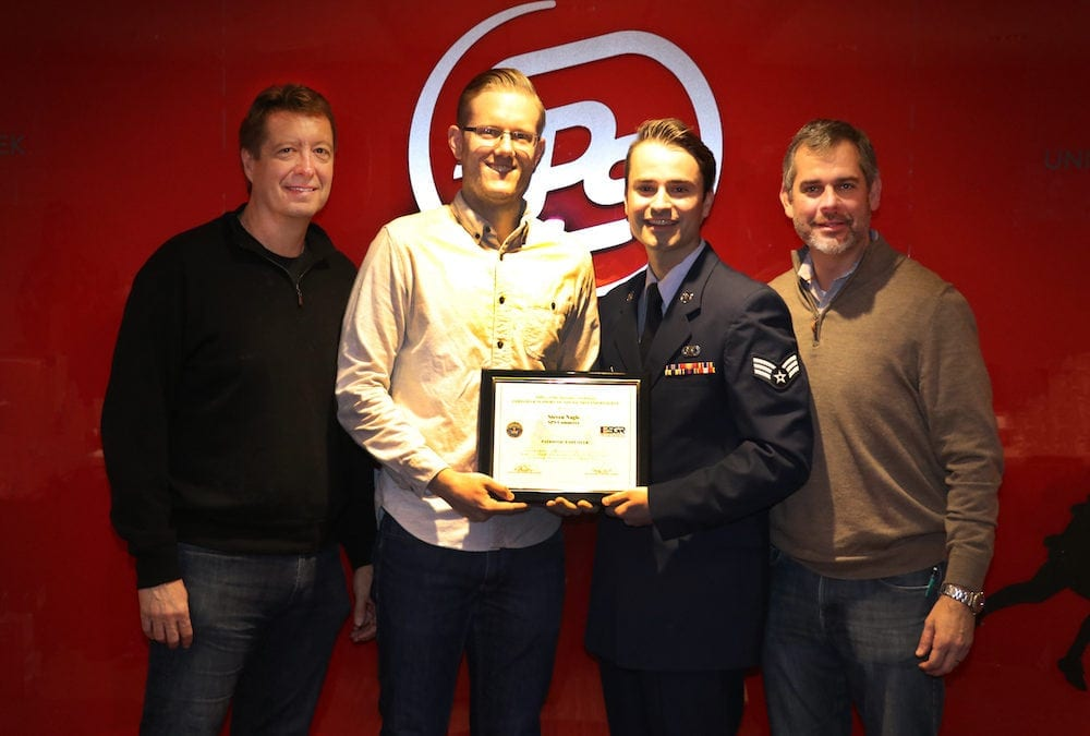 Department of Defense recognizes SPS manager with ESGR award