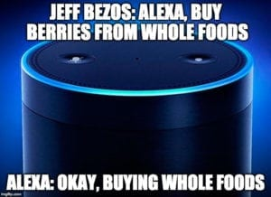 Amazon, Jeff Bezos, Whole Foods, meme