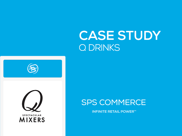 Q Drinks reduced data entry per order by 90% [Case Study]