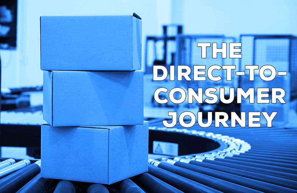 Direct-to-consumer journey from the first drop ship order through automation