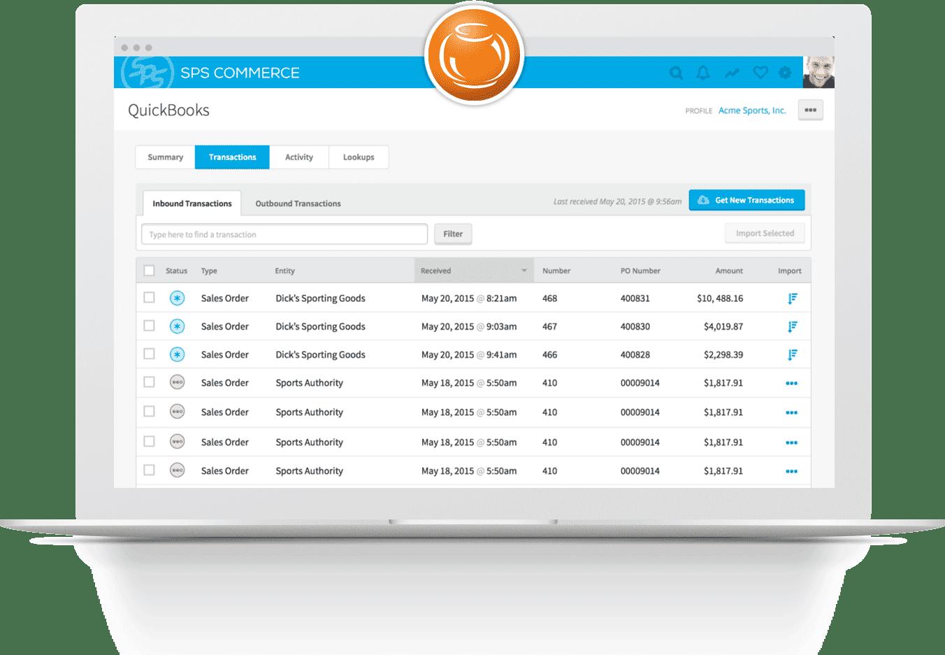 Fishbowl Product Screenshot