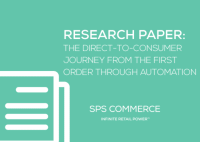 Research Paper: The Direct-to-Consumer Journey from the First Order Through Automation
