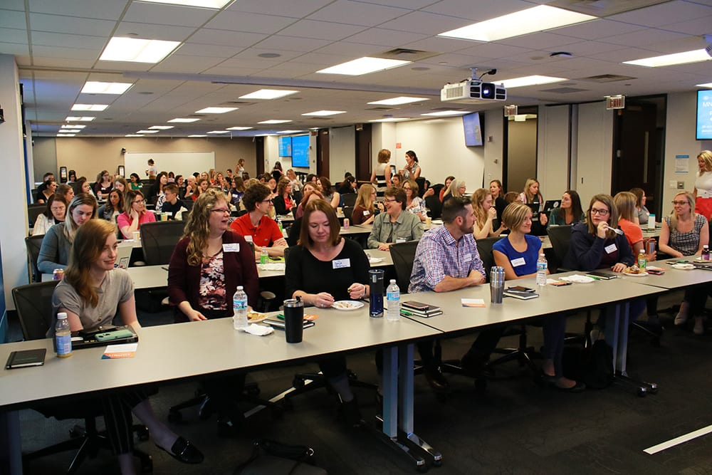 Women in Tech Breakfast and fireside chat, women in IT, Minnesota technology community