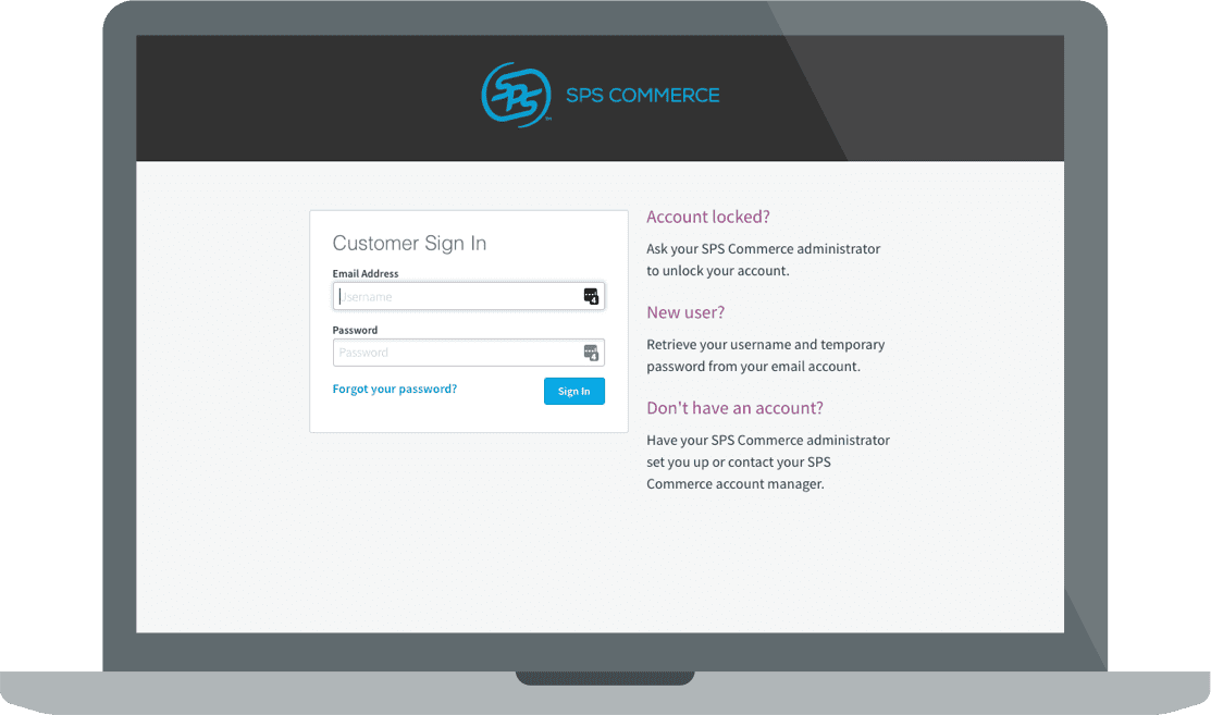 SPS Commerce Login for Analytics