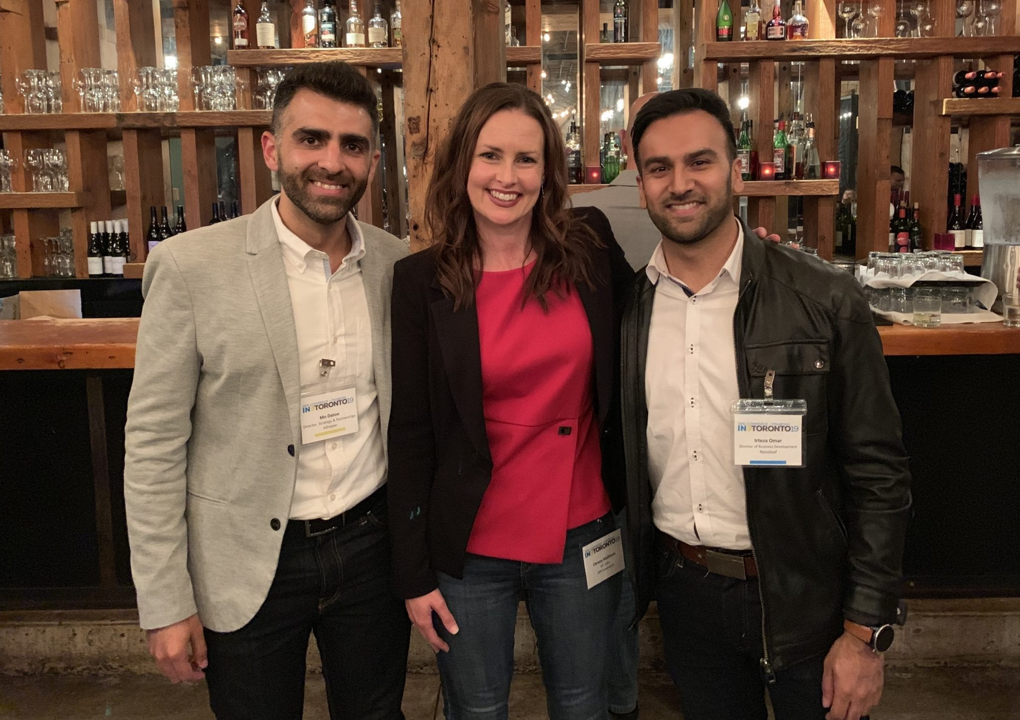 The highlight of the event was a panel led by Chrissy Mathison, Vice President of Sales at SPS, and included speakers, Irteza Omar, Director of Business Development at Nanoleaf, and Mo Datoo, Director, Strategy and Partnerships at eShipper.