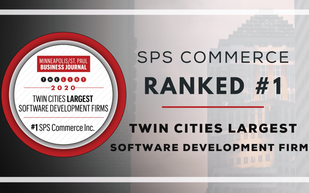 SPS Commerce Ranked #1 Twin Cities Largest Software Development Firm