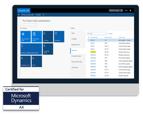 Microsoft Dynamics AX EDI Integration from SPS Commerce